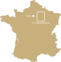 Situation du Vignoble Champenois